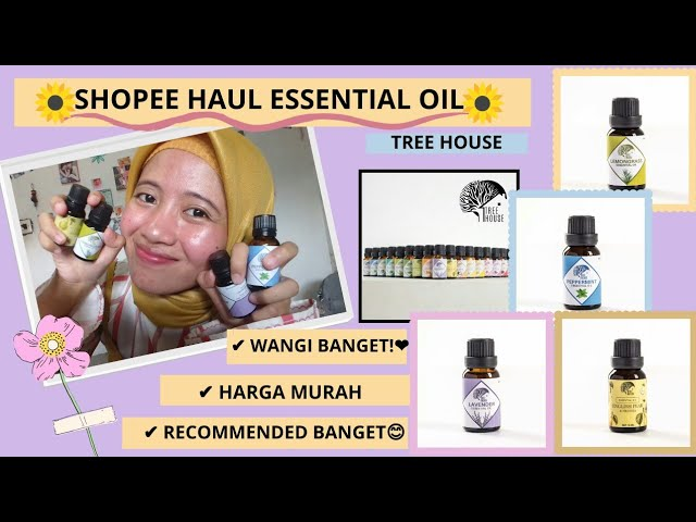 SHOPEE HAUL BASICS OIL MURAH DAN WANGI!!!
